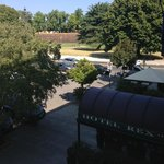 Room view at Hotel Rex, Lucca, Italy