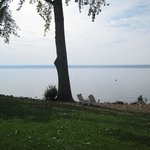 Wonderful views of Lake Cayuga.