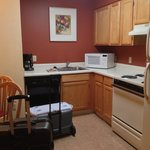 Kitchen area in 2 bedroom suite