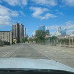 Coming into Minneapolis from freeway - Sept. 2, 2013