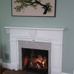 Fireplace in the Harmison Room