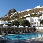 swimming pool and chora view