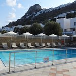 swimming pool and chora