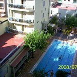 view on swimming pool