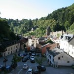 View over Vianden from bedroom