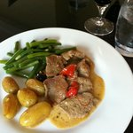 Own cooking - perfect veal