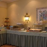 part of the  breakfast spread