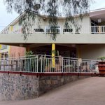 Welcome to Discover Rwanda Youth Hostel - Entrance