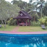 Naga Hill Resort hut pool