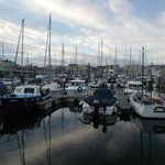 Sutton Harbour but 3 minutes walk from the hotel