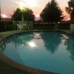 Evening / sunset from the Pool