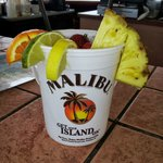 Malibu Bucket from the Reef Bar