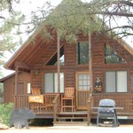 Bear Paw cabin at Mogollon Resort Cabins