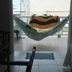 HAMMOCK ON OUTSIDE BALCONY!