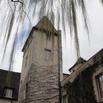 climb up tower to get view of Beaune