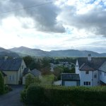View from room towards Keswick