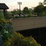 Sheraton Cuyahoga Falls- Club Lounge Patio