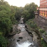 Sheraton Cuyahoga Falls- View of Falls from patio