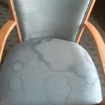 Nasty stained chair
