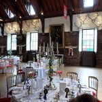 Blair Castle Ballroom (layed out for wedding)