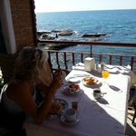 breakfast with great location