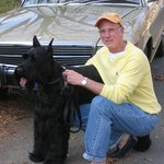 My Giant Schnauzer Bailey and me..