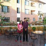 a picture with the very accommodating General Manager of Ambassador Hotel...