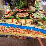 The beach food display :-)