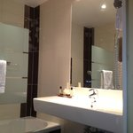 New bathrooms 2013 hotel du theatre Paris 17