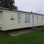 2 bed caravan...nice but cold