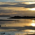 View from Ben's Beach at Camusdarach Campsite, Arisaig