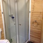 shower area Beech Lodge
