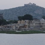 The heritage hotel with the fort at Kishangarh, Ajmer