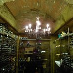 The private wine cellar