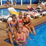 Chilling at the Pool (never actually went init!!)