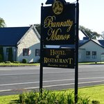 The Manor sign out front