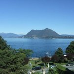 The view of Lake Maggiore