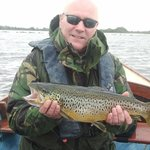 Trout caught from Corrib View Lodge
