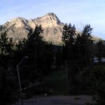 view of Mt. Vimy, from our room and deck outside our double window..perfect spot for sunset!!