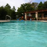 Front of camp pool