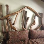 interesting headboard