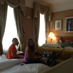 """Family Room"", largest hotel room I've seen in London!"