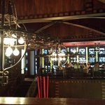 view of the upstairs bar