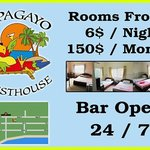 100 meters from the beach, Papagayo Guest House