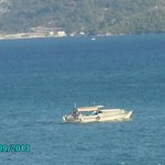VEIW FROM BALCONY ROOM 401 MELODI HOTEL MARMARMARIS