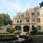 neighbor castle across street to cornerstone bed and breakfast Omaha.