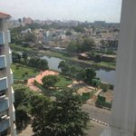 View from room at Ramada Chennai Egmore hotel