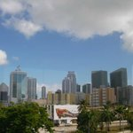 Miami skyline View from Calle 8