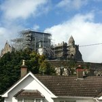 View from the bnb of Rock of Cashel