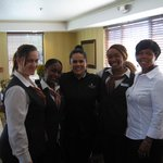 The best Guest Service Staff ever & me